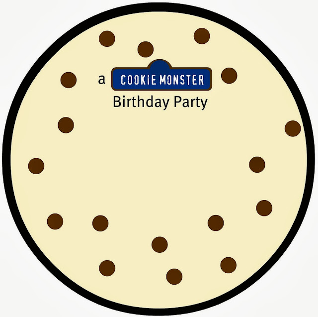 free cookie monster printable