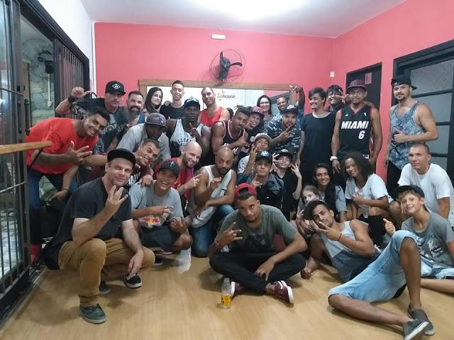 B-Boy Leony , DJ Dog E Zoio agitam litoral de São Paulo em workshop na On House