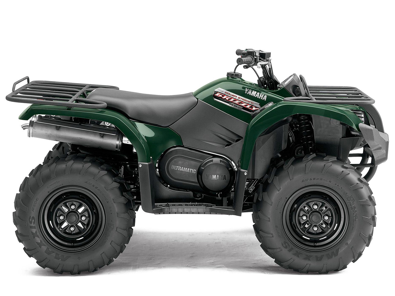 2013 yamaha grizzly 450 auto 4x4 eps atv pictures and specs. Black Bedroom Furniture Sets. Home Design Ideas