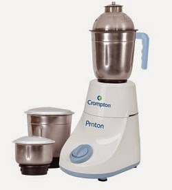 Flat 65% Off on Crompton Greaves DS53 Mixer Grinder 500 Watt for Rs.1299 Only (Limited Period Offer)