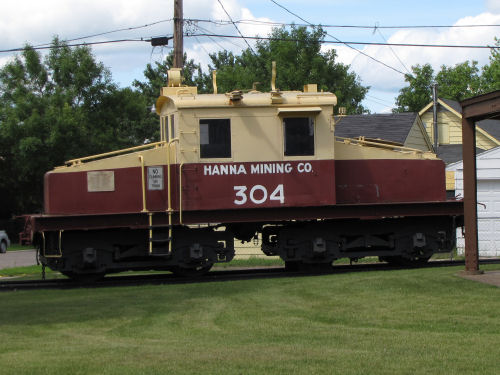 Hannah Mining engine 304