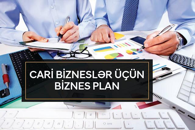 Cari bizneslər üçün biznes plan