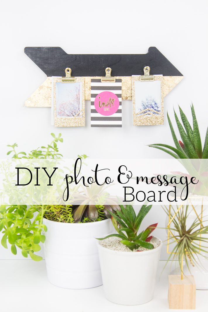 DIY Photo and Message Board by @createoften for @heidiswapp