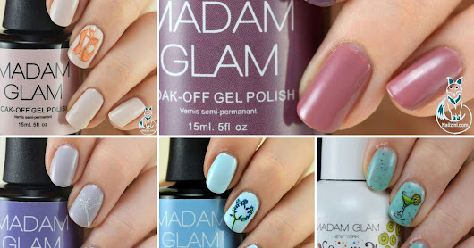 Madam Glam Pastel Gels Review