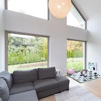 Okna salon - fasada
