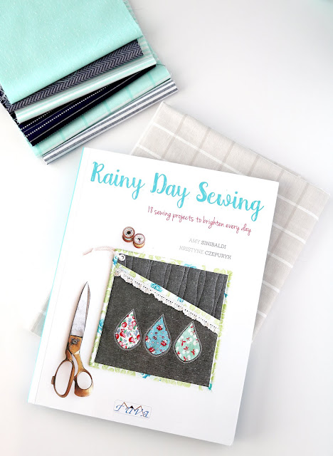 Rainy Day Sewing book found on A Bright Corner