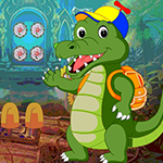 Games4King Wave Crocodile Escape