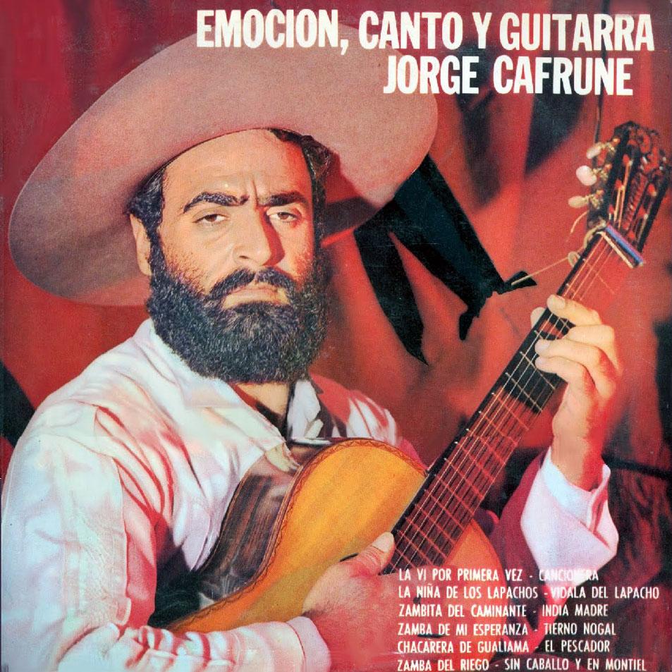 Jorge Cafrune Emocion Canto Y Guitarra