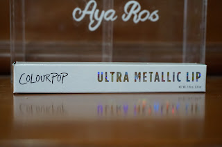 COLOURPOP ULTRA METALLIC LIP REVIEW