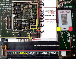 SONY XPERIA M C2005 SPEAKER WAYS