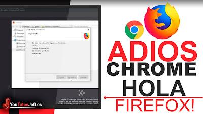 Migrar de Chrome a Firefox - Dejar de Usar Google Chrome