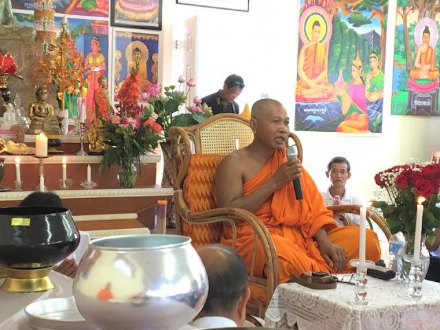 Pchum Ben Ceremony បុណ្យភ្ជុំបិណ្ឌ September 16, 2017