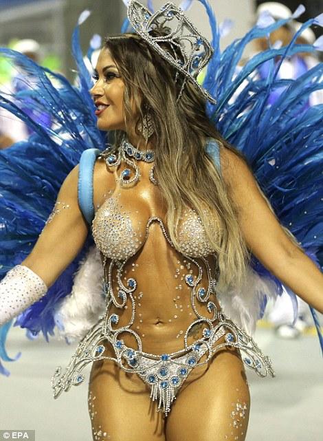 Hot Brazilian Naked Women