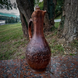 redstonegoods pottery pitcher