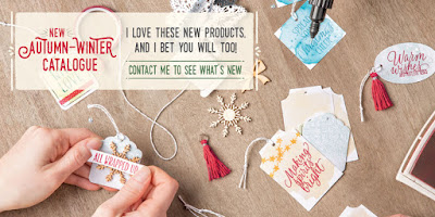 Get your copy of the Stampin' Up! UK Autumn Winter Catalogue Here