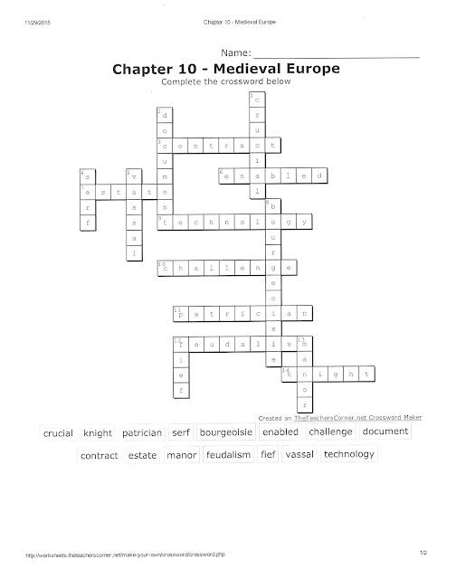 Kleine- World History Chapter 13 Quiz