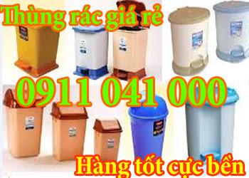 Thùng rác nhựa, thùng rác công cộng giá siêu rẻ