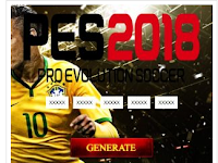 Serial Number PES (Pro Evolution Soccer) 2018