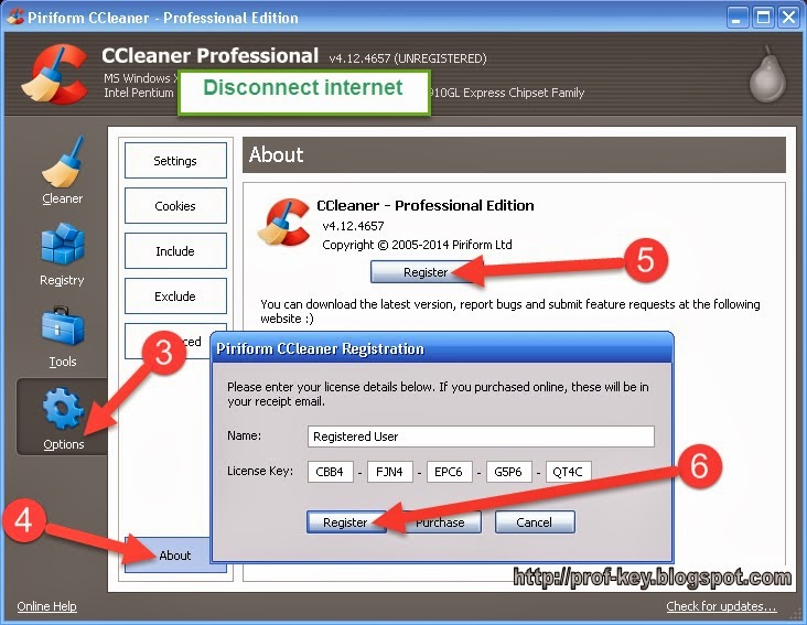 CCleaner Pro 01.2017 serial key or number - Latest ...