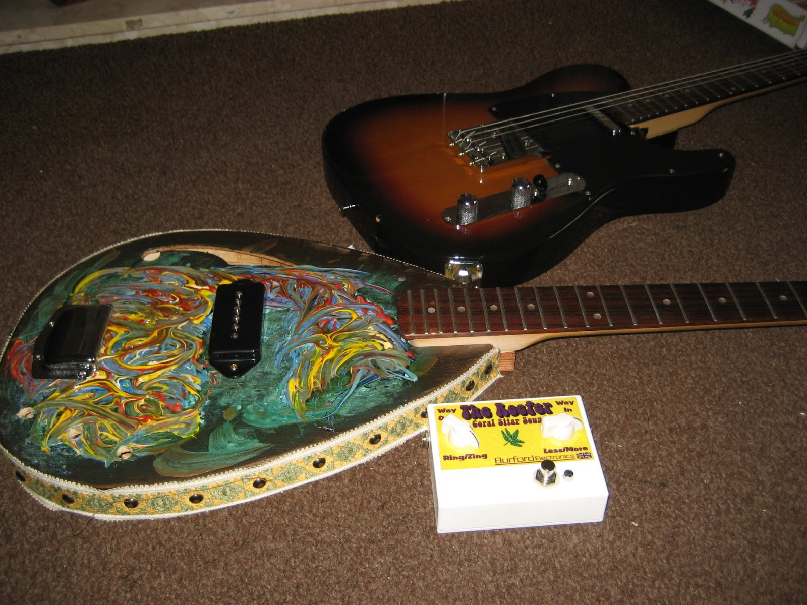 the jooky guitar emporium of burford 39 s 39 the reefer 39 sitar pedal frou ish teardrops and. Black Bedroom Furniture Sets. Home Design Ideas