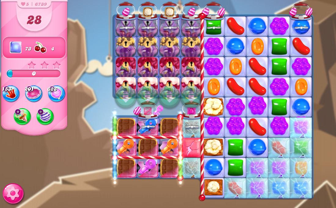 Candy Crush Saga level 6739