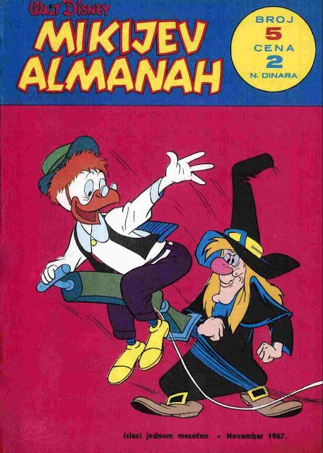 Mikijev Almanah 5 - Miki Maus
