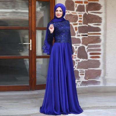 Modest Evening Hijab Dresses