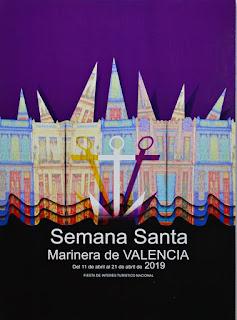 Cartel oficial de la Semana Santa Marinera 2019