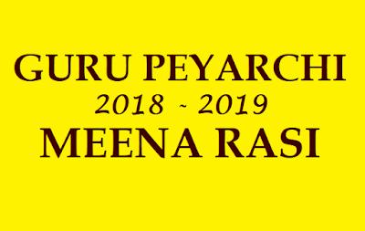 2018 GURU TRANSIT INTO VIRUCHIKA RASI
