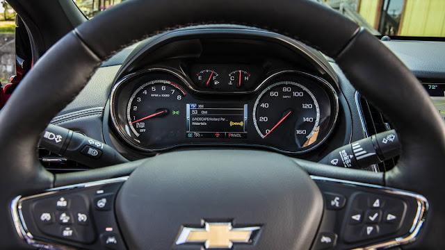 New Chevrolet Cruze LT-chevy Plain 2016 wheel drive view