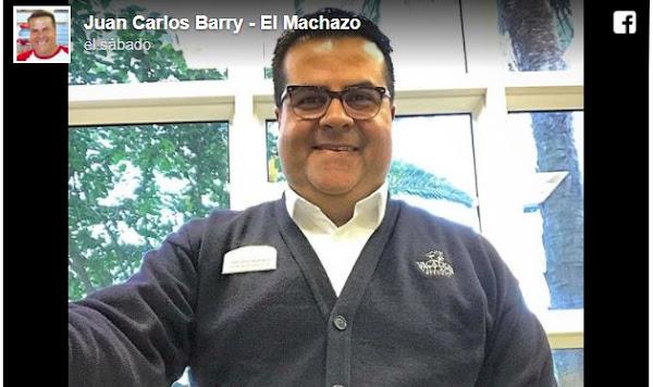 Humorista Juan Carlos Barry es ahora portero de hotel en Miami
