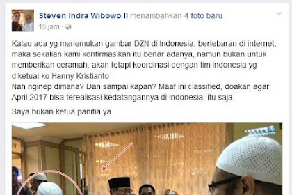 Benarkah Dr.Zakir Naik Sudah Tiba di Indonesia?