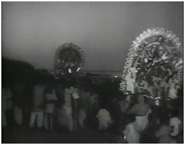Devi 1960 directed by Satyajit Ray_BD Films Info 'দেবী' (১৯৬০) বিশ্বখ্যাত চলচ্চিত্র নির্মাতা সত্যজিৎ রায়ের একটি গুরুত্বপূর্ণ নির্মাণ। 'অপু ট্রিলজি' এবং 'জলসা ঘর' এর কাজ শেষ করার পরই তিনি 'দেবী' চলচ্চিত্র নির্মাণের কাজে হাত দেন। এটি ১৯৬০ সালে মুক্তি পায়। হিন্দু ধর্ম মতে দেবী হচ্ছে একটি সত্তা, যা স্বর্গীয়, ঐশ্বরিক, শ্রেষ্ঠত্বকে বুঝায়। এটি একটি স্ত্রীবাচক শব্দ যার পুরুষবাচক শব্দ হচ্ছে দেব। 'দেবী' চলচ্চিত্রে দেবী শব্দটি এই চলচ্চিত্রের অন্যতম প্রধান চরিত্র দয়াময়ী'কে বোঝাতে ব্যবহৃত হয়েছে। Devi (1960) directed by Satyajit Ray_BD Films Info                                        দেবী'র নন্দনতাত্ত্বিক বিশ্লেষণ    ভূমিকাঃ 'দেবী' (১৯৬০) বিশ্বখ্যাত চলচ্চিত্র নির্মাতা সত্যজিৎ রায়ের একটি গুরুত্বপূর্ণ নির্মাণ। 'অপু ট্রিলজি' এবং 'জলসা ঘর' এর কাজ শেষ করার পরই তিনি 'দেবী' চলচ্চিত্র নির্মাণের কাজে হাত দেন। এটি ১৯৬০ সালে মুক্তি পায়। হিন্দু ধর্ম মতে দেবী হচ্ছে একটি সত্তা, যা স্বর্গীয়, ঐশ্বরিক, শ্রেষ্ঠত্বকে বুঝায়। এটি একটি স্ত্রীবাচক শব্দ যার পুরুষবাচক শব্দ হচ্ছে দেব। 'দেবী' চলচ্চিত্রে দেবী শব্দটি এই চলচ্চিত্রের অন্যতম প্রধান চরিত্র দয়াময়ী'কে বোঝাতে ব্যবহৃত হয়েছে।    দেবী চলচ্চিত্রের সামাজিক, রাজনৈতিক ও ঐতিহাসিক পটভূমিঃ  'দেবী' চলচ্চিত্রটির সেট নির্মাণ করা হয়েছে ১৮৬০ সালের তৎকালীন বাংলার জমিদারদের ধর্মান্ধতা, কুসংস্কার ও ধর্মের প্রতি অন্ধবিশ্বাস এবং সে সময়ে এরই প্রেক্ষিতে সামাজিক,রাজনৈতিক তথা ঐতিহাসিক পটভূমিকে কেন্দ্র করে। সে সময় এমন একটি সময় ছিল যখন সতীদাহ প্রথা তিন দশক হল বিলুপ্ত ঘোষণা করা হয়েছে মাত্র। অর্থাৎ, গভর্নর জেনারেল উইলিয়াম বেন্টিং ১৮২৯ সালে সতীদাহ প্রথা বিলুপ্ত ঘোষণা করেন।রাজা রামমোহন রায় এতে অনেক সহায়তা করেন। এবং সে সময়ে অর্থাৎ ১৯৫৬ সালে বিধবা বিবাহ আইন পাশ হয়। তৎকালীন সময়ে, হিন্দু সমাজ বিভিন্নভাবে বিভিন্ন দিক থেকে যেমন, শিক্ষা, ধর্ম, রাজনীতি, সমাজনীতি ইত্যাদি দিক থেকে পিছিয়ে পড়ছিল। তখন রাজা রামমোহন রায়, ঈশ্বরচন্দ্র বিদ্যাসাগরসহ এমন অনেক শিক্ষাবিদ, সমাজ সংস্কারক এবং ধর্ম সংস্কারক দের আবির্ভাব হয়। সে সময়ের সমাজে ধর্মান্ধতা, অন্ধ বিশ্বাস, কুসংস্কার ইত্যাদি বিরাজমান ছিল। তৎকালীন সমাজে তাঁদের মত সমাজসংস্কারক, ধর্ম-সংস্কারক, শিক্ষাবিদদের সহায়তায় সম