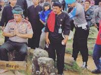 Menurut Cerita Rakyat, Batu yang diduduki Anton itu Tempat Duduk Prabu Siliwangi