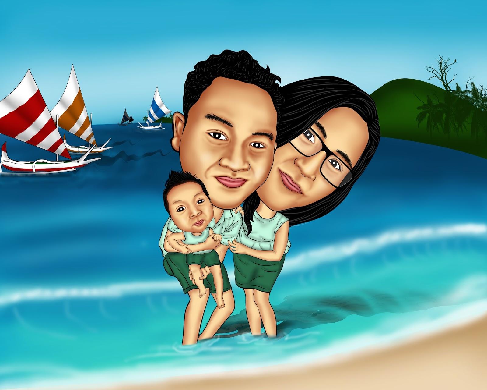 EMbali Karikatur Karikatur Lucu Di Bali