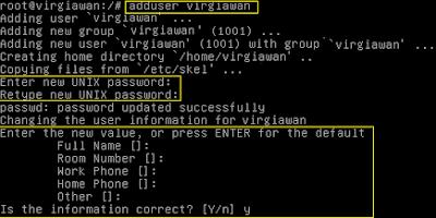 Cara install dan konfigurasi FTP server di debian