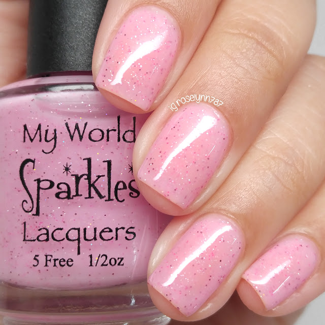My World Sparkles - Sweet Kisses