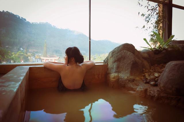 Onsen Hot Spring Batu Malang