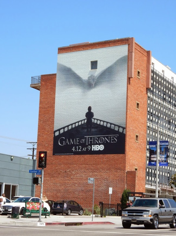 Game of Thrones season 5 wall mural billboard