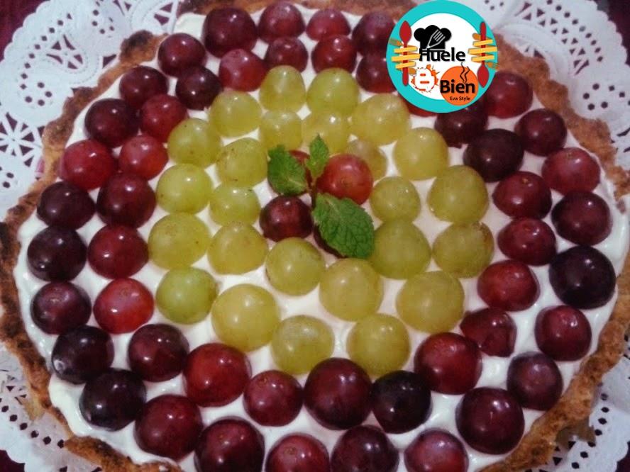 Mousse de uvas blancas - ¡Huele Bien!