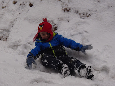 Lipnica Wielka, babia góra, Orawa, zabawy na śniegu