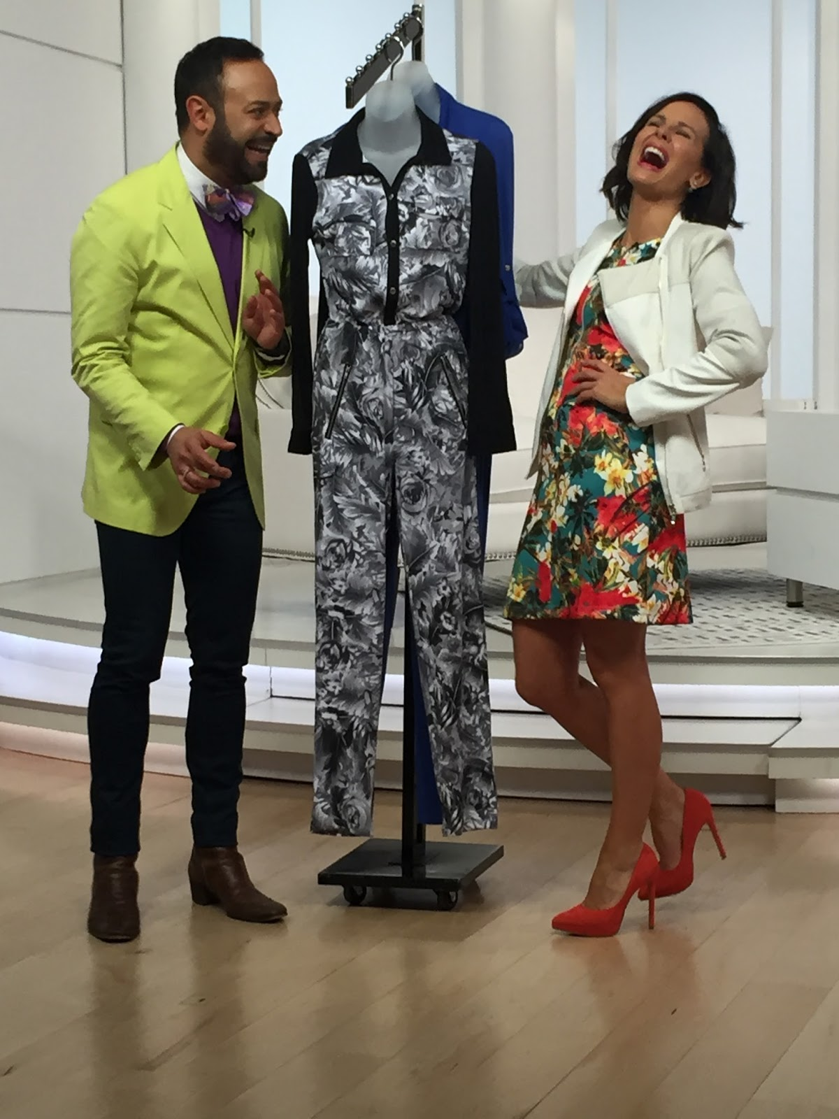 026936b86a26a NV Fabulous  Nick Verreos on the EVINE Live TV Shopping Network debuting  his latest