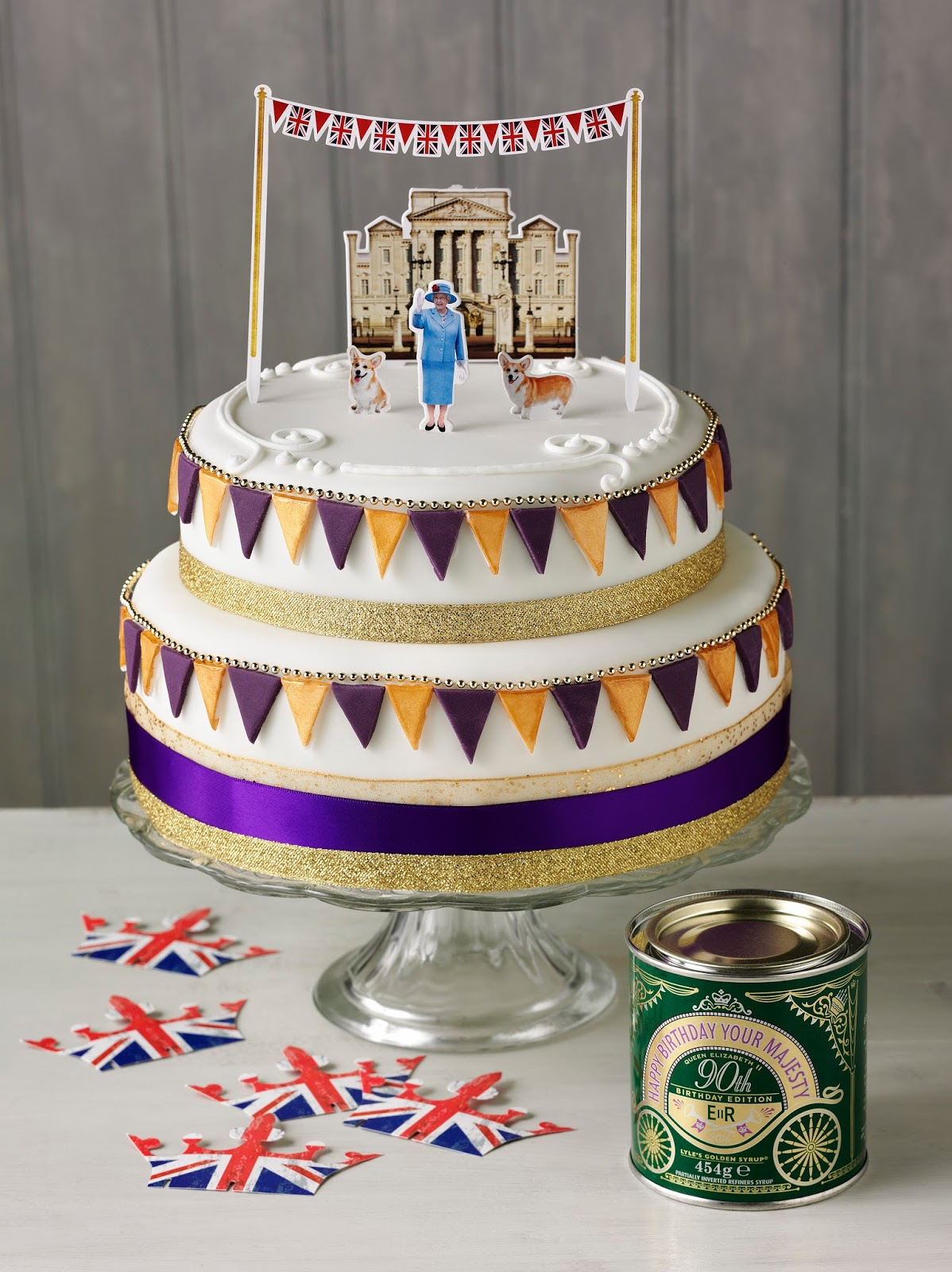 Her Majesty's Birthday Cake Fit For A Queen