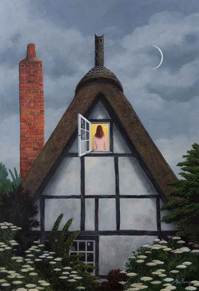 """The Red Chimney"" by Alan Parry - 2018 