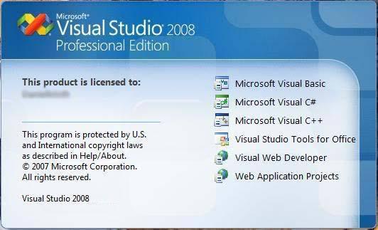 Visual studio 2008 download free.