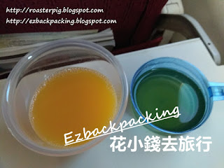 香港航空飛機餐飲品