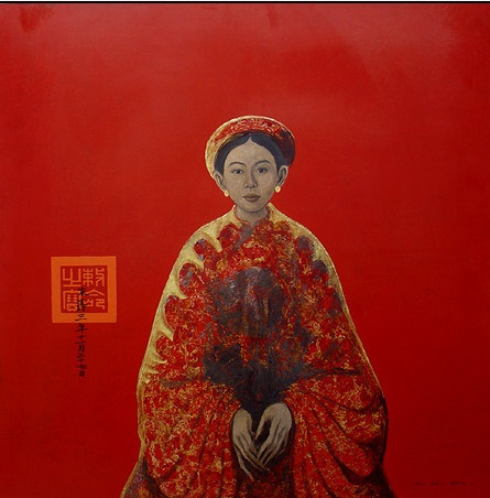 10 mẫu tranh sơn dầu bùi hữu hùng