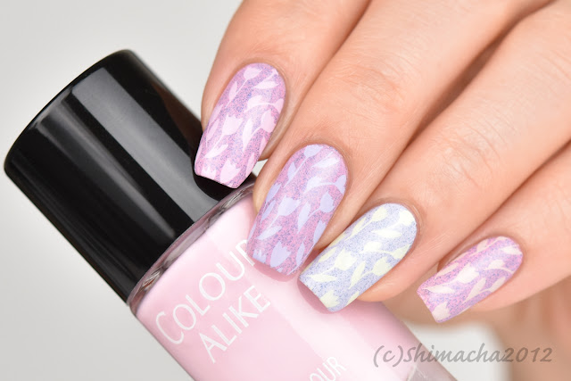 Colour Alike Spring Break Collection, Curali Nail Stamping 012, スタンピングネイル