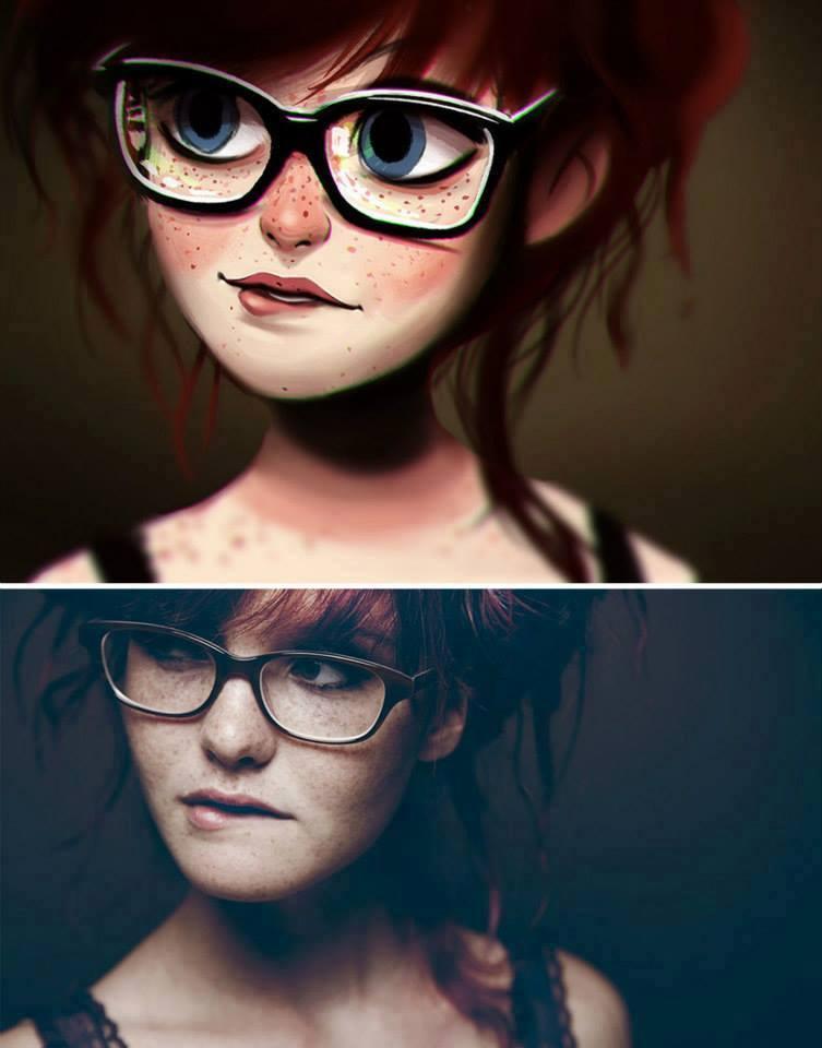 fotos transformadas em caricatura 04 - Pessoas transformadas em Caricaturas
