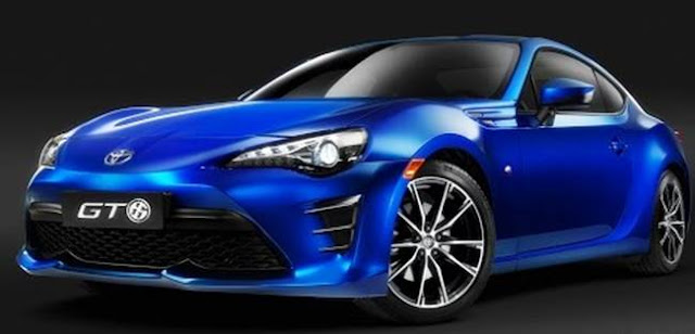 2018 Toyota GT86 Redesign